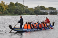 Соревнования по гребле на лодках-даконах
